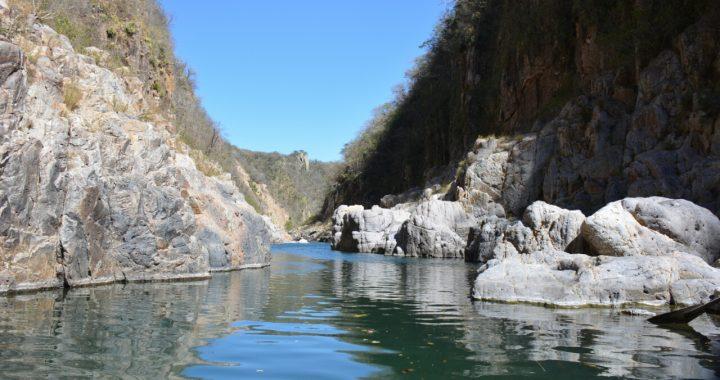 Somoto Canyon, Nicaragua van het gebaande pad