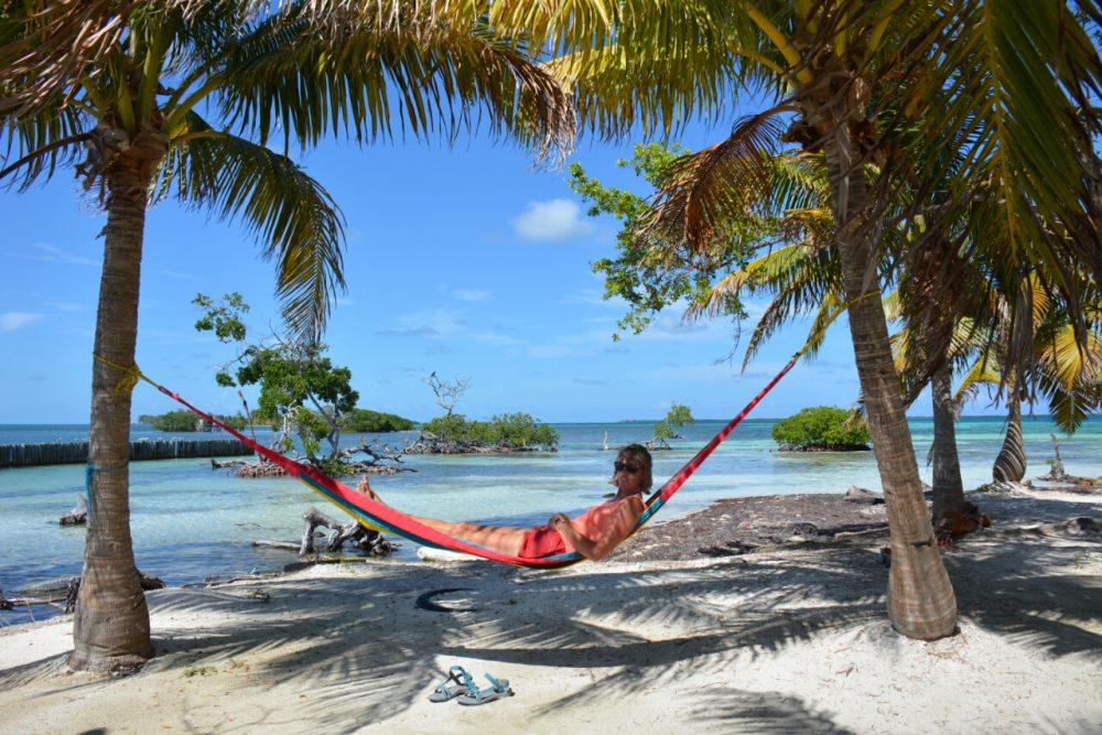 hammock Ragga Caye