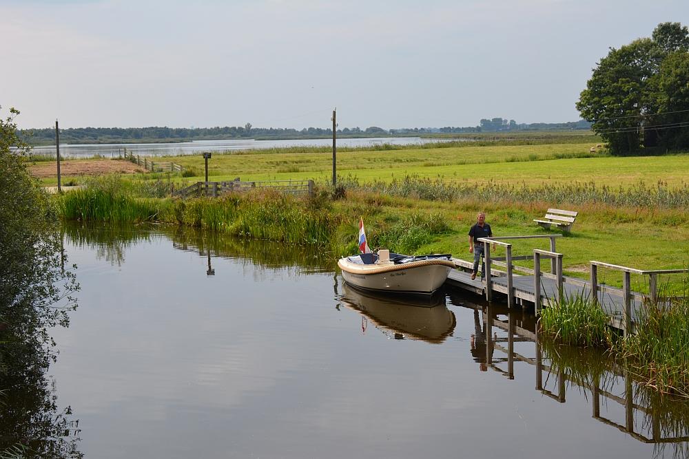 Friese Wouden varen met de E sloep