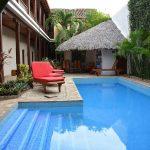 leukste hotels Nicaragua Hotel con Corazón, Granada Nicaragua zwembad