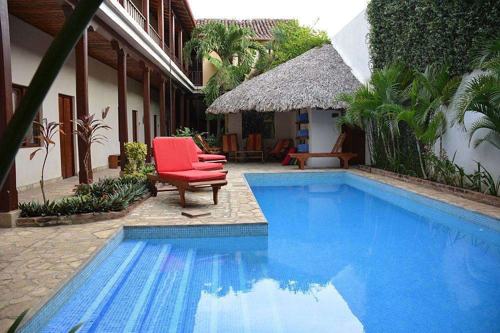 Hotel con Corazón, Granada Nicaragua zwembad