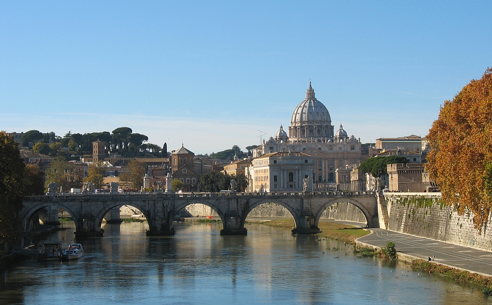 Ponte Sante Angelo Rome