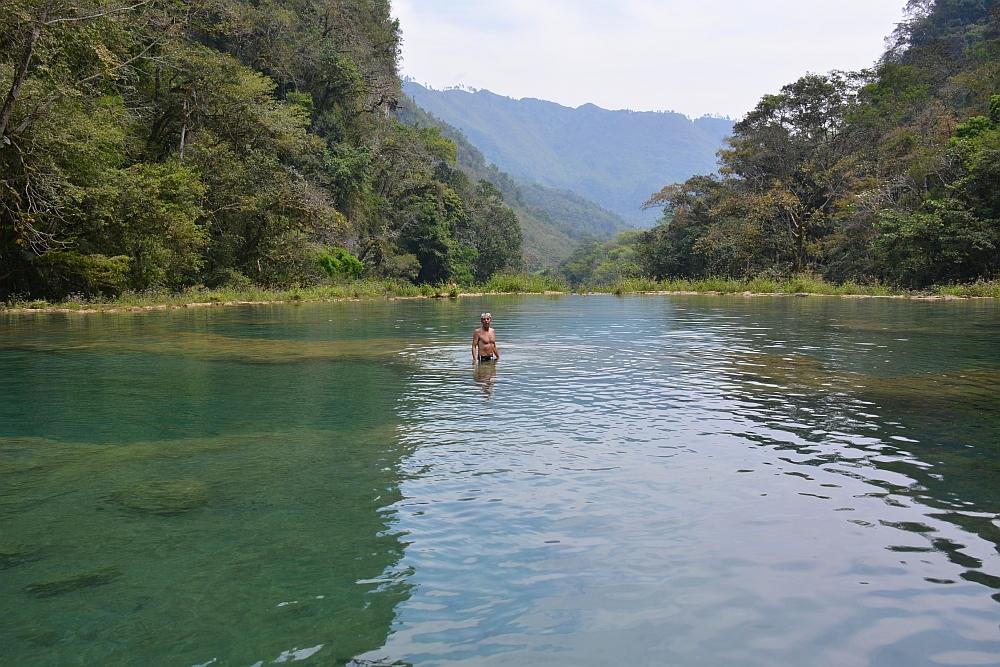 Semuc Champey Guatemala zwemmen