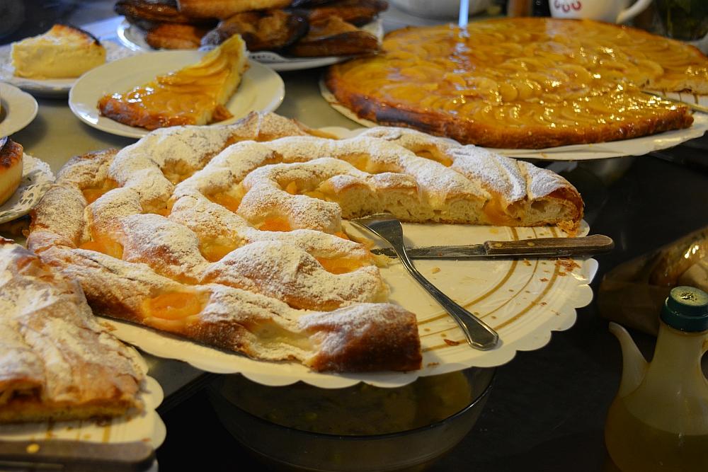 taart bij Mallorcaanse bakker