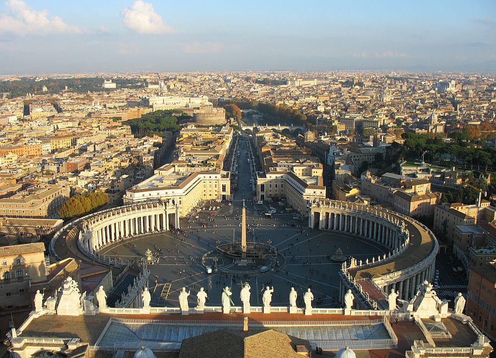 stedentrip Rome Sint Pieterskerk