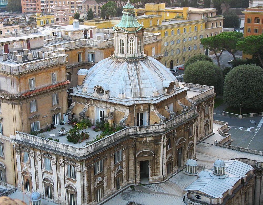 uitzicht vanaf de Sint Pieterskerk, Rome