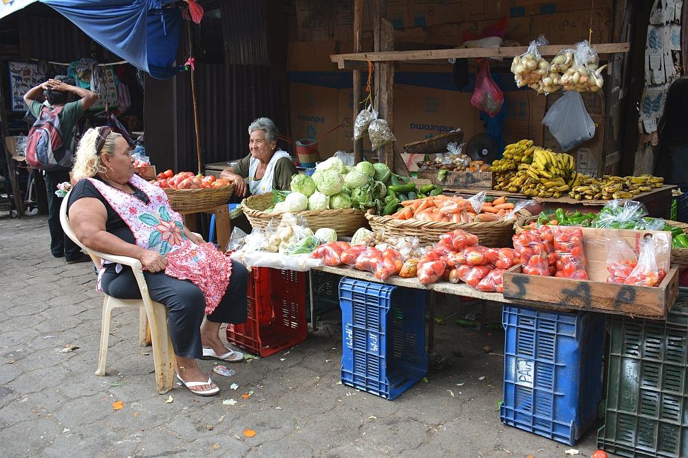 portretten Nicaragua, markt