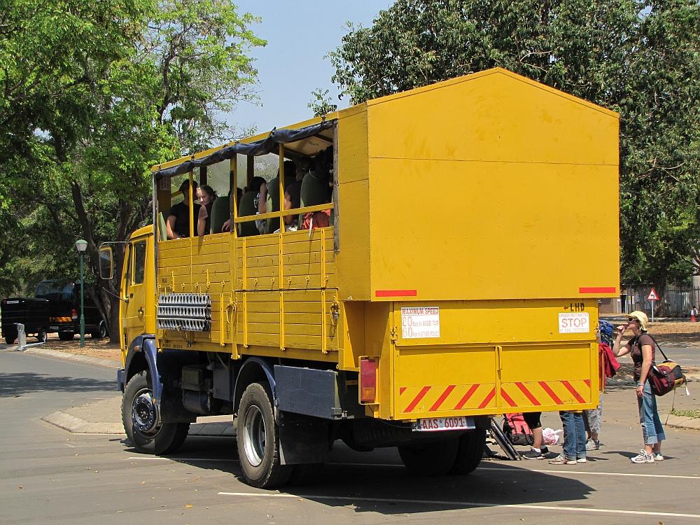 rondreis truck Zimbabwe