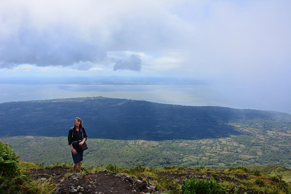 Hike op de vulkaan Concepcion