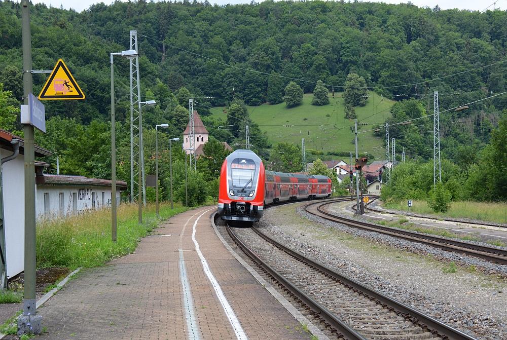 Altmühltal Panoramaweg station Solnhofen