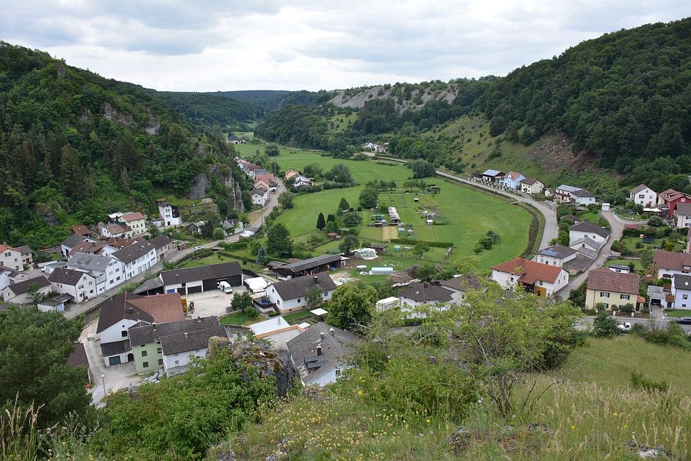 Altmühltal Panoramaweg uitzicht