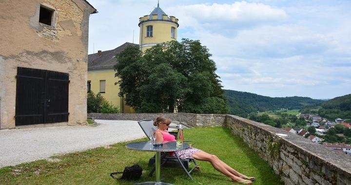 vakantiehuis in een kasteel Duitsland