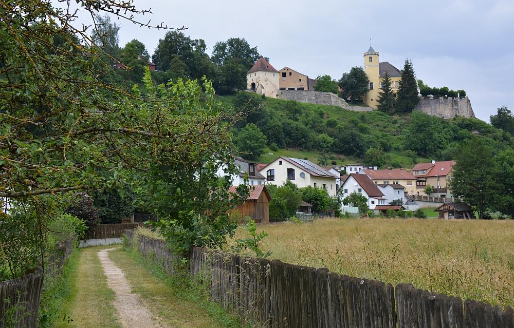 wandelen bij Schloss Möhren in Duitsland