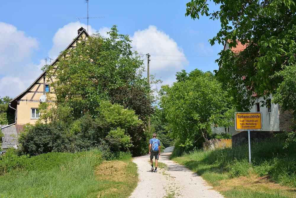 Wandelen Altmühtal bij Schloss Möhren