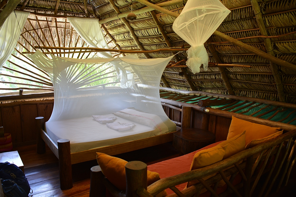 mooiste hotel aan de Rio Dulce Hotelito Perdido