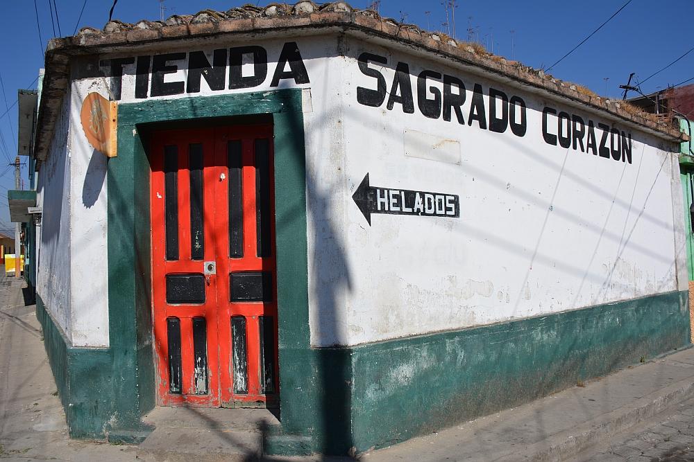 Van het gebaande pad in Guatemala Xela