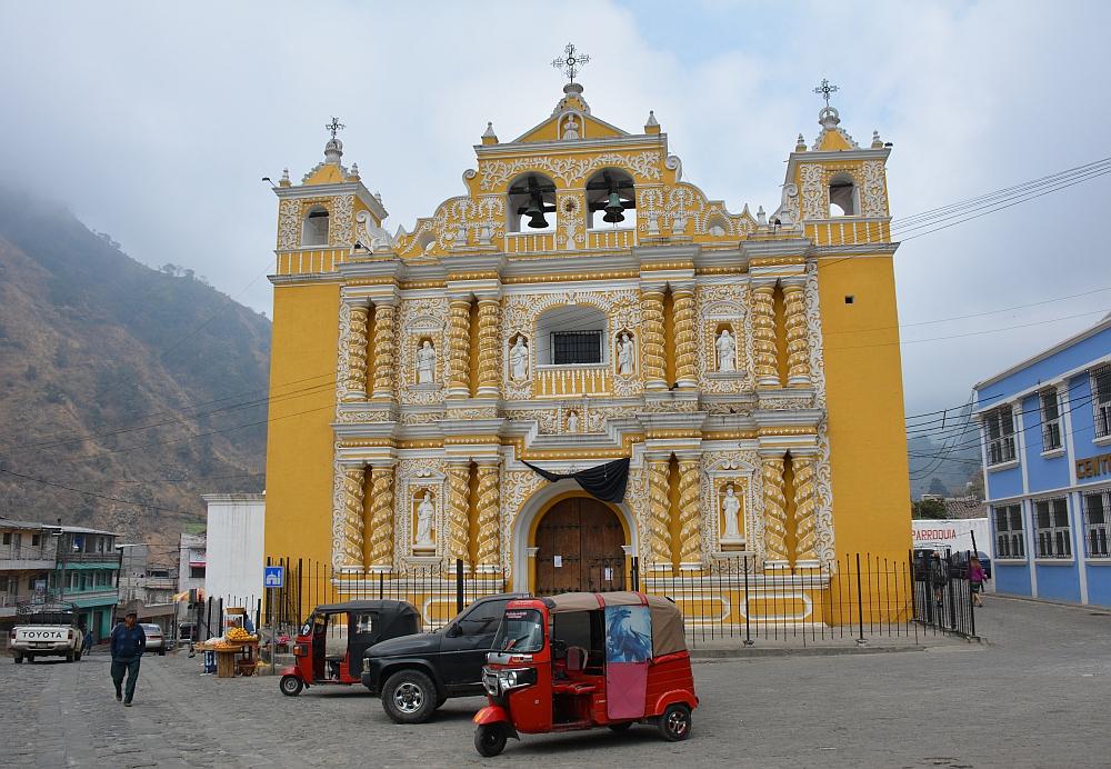 Van het gebaande pad in Guatemala Zunil