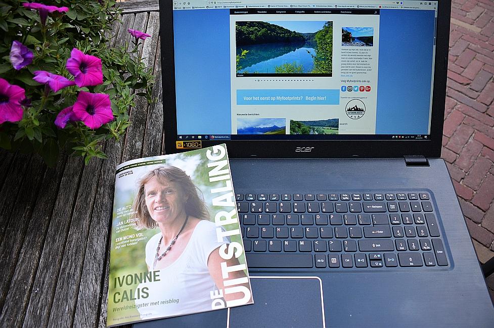 Myfootprints.nl in de pers, artikel uitstraling