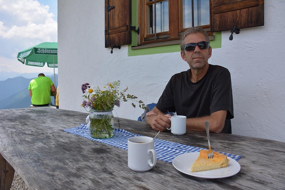 Piesenhausener Hochalm alpenhut, koffie en küche