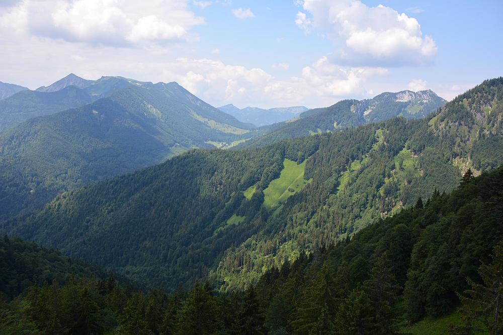 bergwandeling naar Piesenhausener Hochalm
