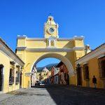 hoogtepunten van Guatemala Arco de Santa Catalina.Antigua