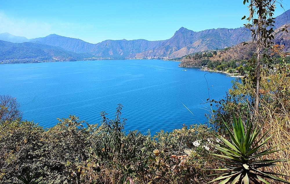 meer van Atitlan uitzicht bij San Marcos