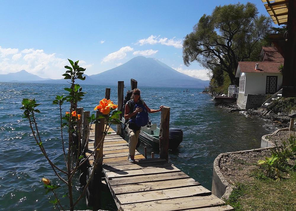 meer van Atitlan, boot