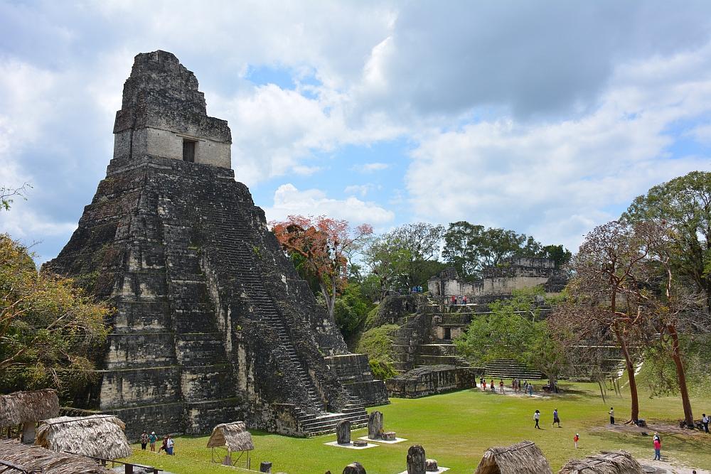 tempels van Tikal main square tempel I
