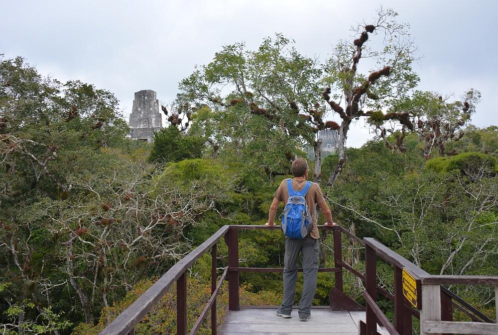 tempels van Tikal tempel tempel I