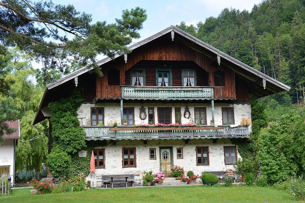 wandelen in de Beierse Alpen Hinterwössen