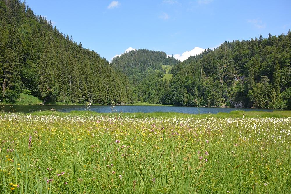 wandelen in de Beierse Alpen Taubensee