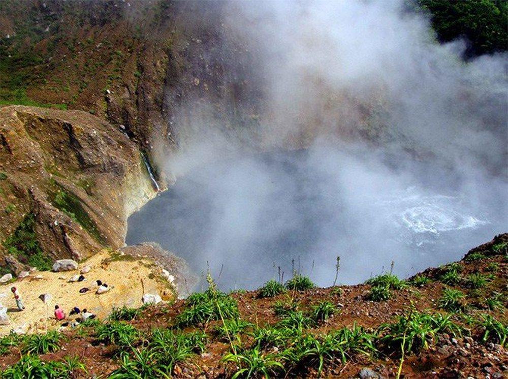 Hike naar het Boiling Lake Dominica