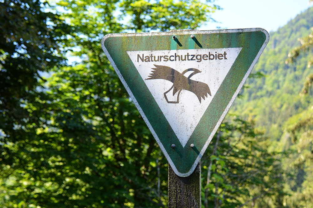 Smokkelaarsroute in de Beierse Alpen Naturschutzgebiet