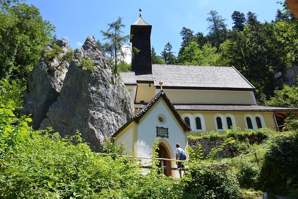 Smokkelaarsroute in de Beierse Alpen Wallfahrtskirche Maria Klobenstein