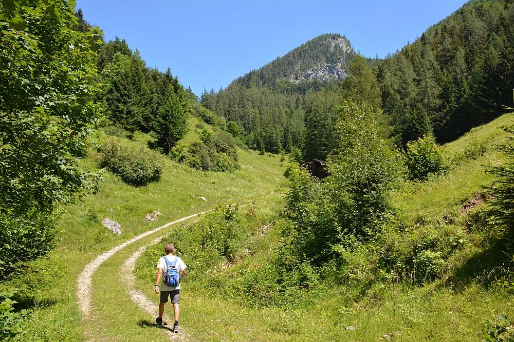Smokkelaarsroute in de Beierse Alpen weg omhoog