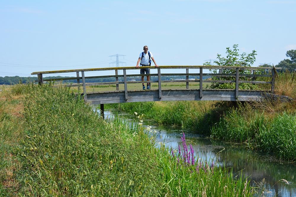 Walk of Wisdom van Malden naar Grave brug