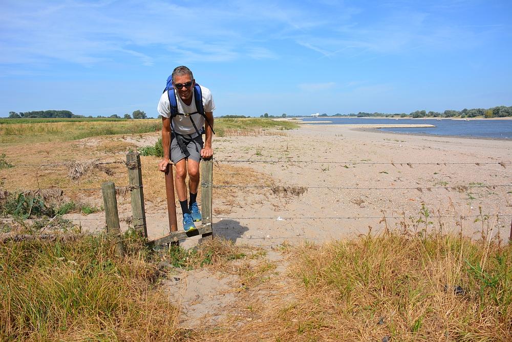 Walk of Wisdom van Winssen naar Nijmegen hekje