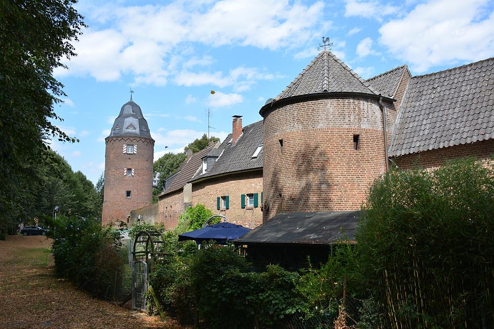 Walk of Wisdom via het Reichswald naar Groesbeek stadsmuur Krananburg
