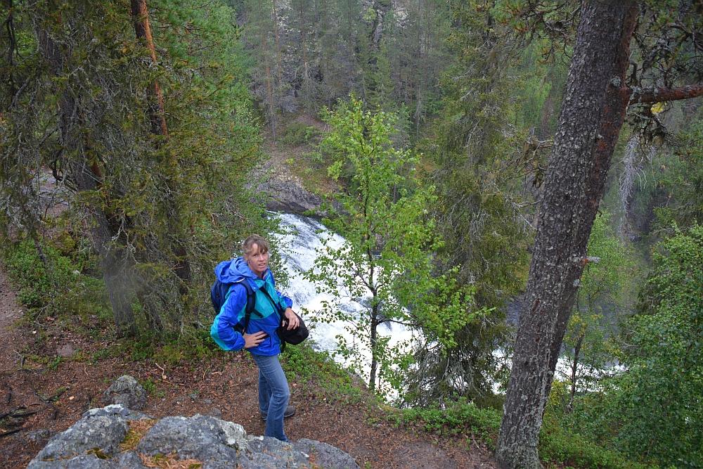 Wandelen in Finland Nationaal Park Oulanka