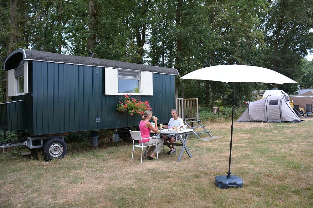 ontbijt camping zus en zus Hernen, Walk of Wisdom overnachten