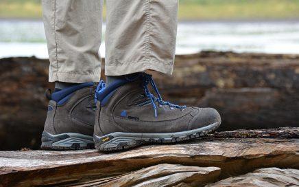 Berghen wandelschoenen de MORILLON High Anthracite Blue
