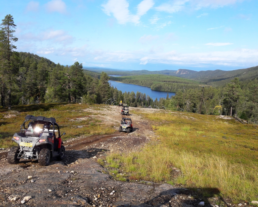 quad bike safari in Lapland