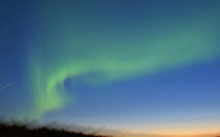 Noorderlicht Lapland bij Salla