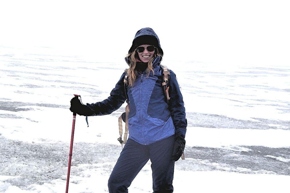 Wonen in Colombia, Sabine In de sneeuw op 4750 meter hoogte in Colombia