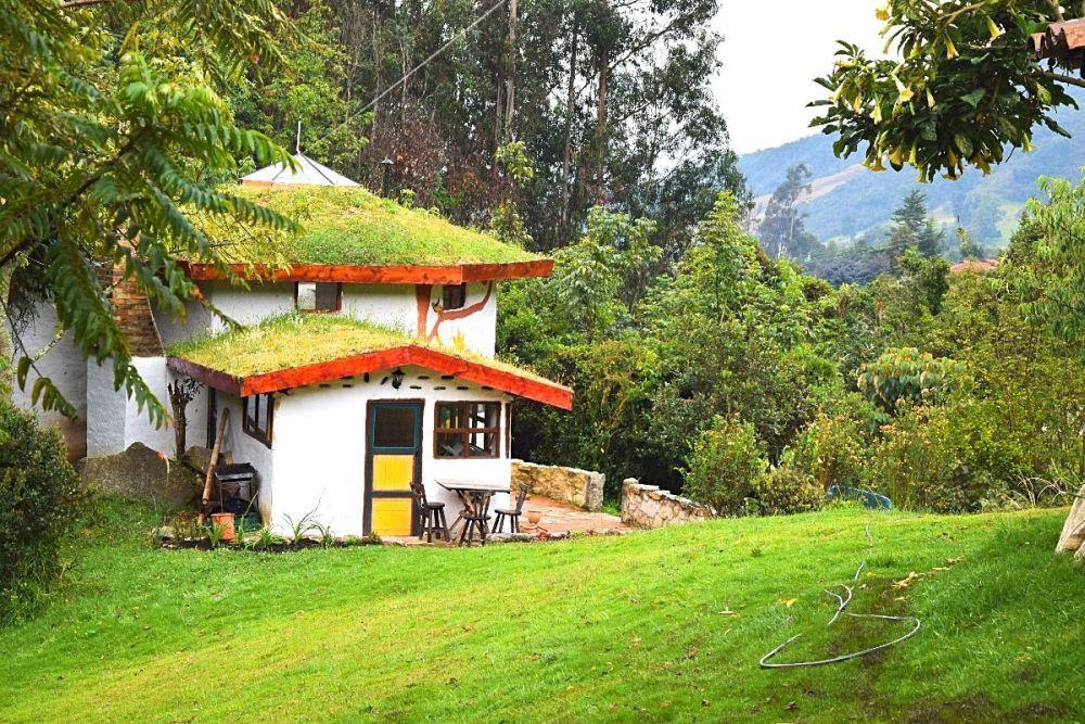 Wonen in Colombia bijzonder hotel in de bergen