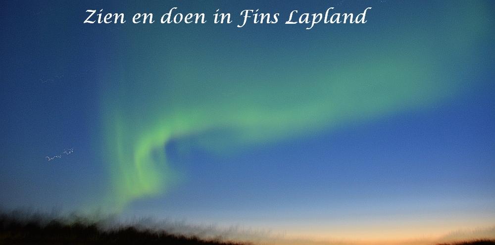 Zien en doen in Fins Lapland
