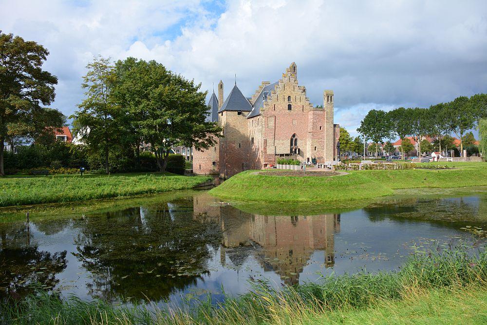 fietsroute rond Medemblik kasteel Radboud