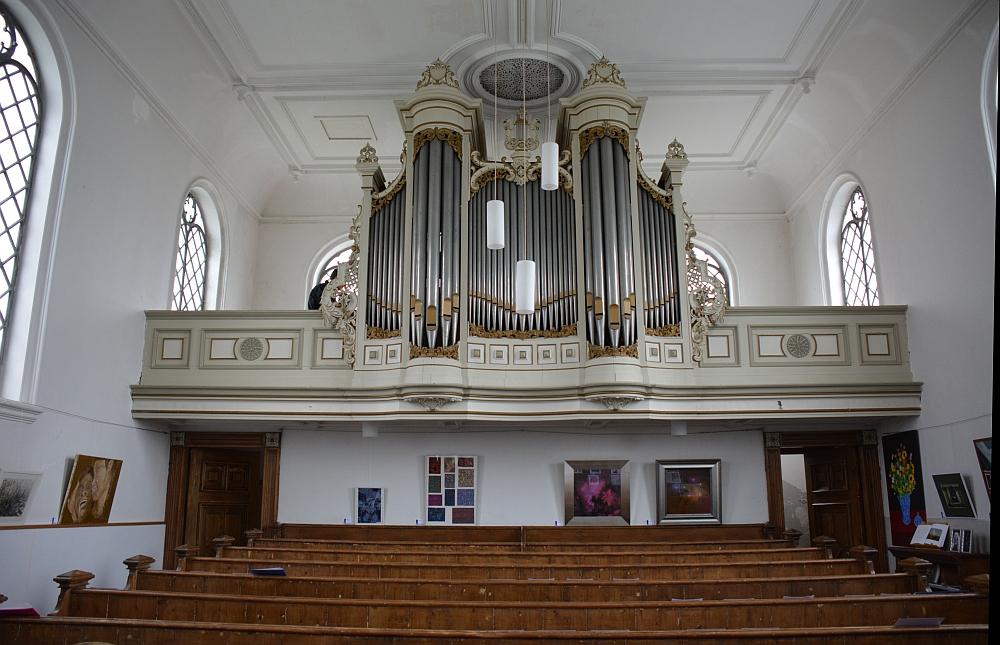 orgel Doopsgezinde kerk Twisk