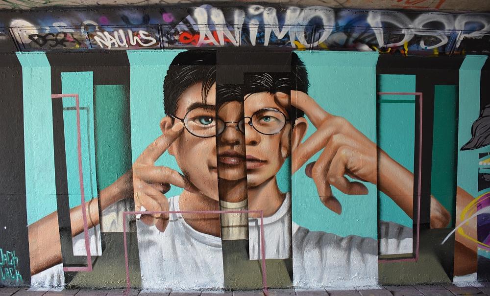 streetart in Eindhoven Berenkui