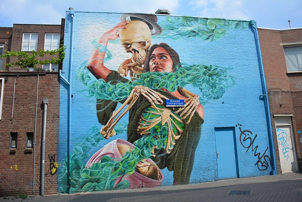 streetart in Eindhoven Nieuwe Emmasingel Studio Giftig